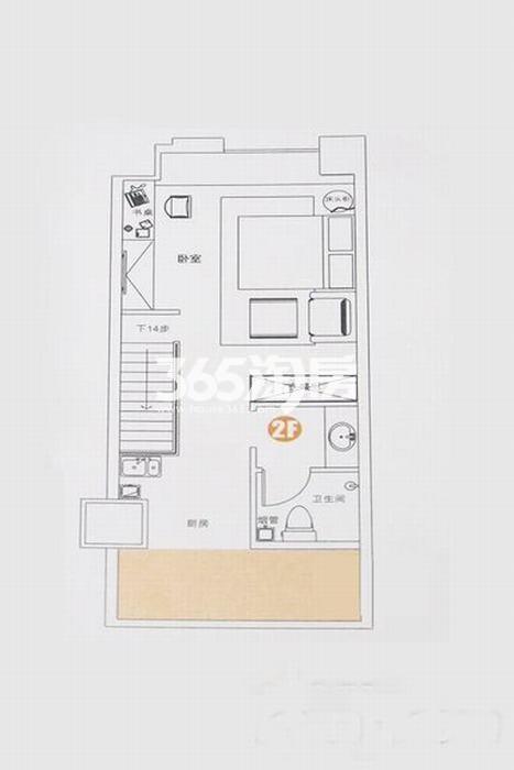 正荣彩虹谷loft公寓2、3、4、5#楼50㎡