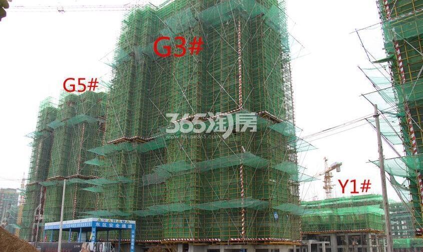 招商公园1872G3#、G5#、Y1#工程进度实景图(2018.4.16)
