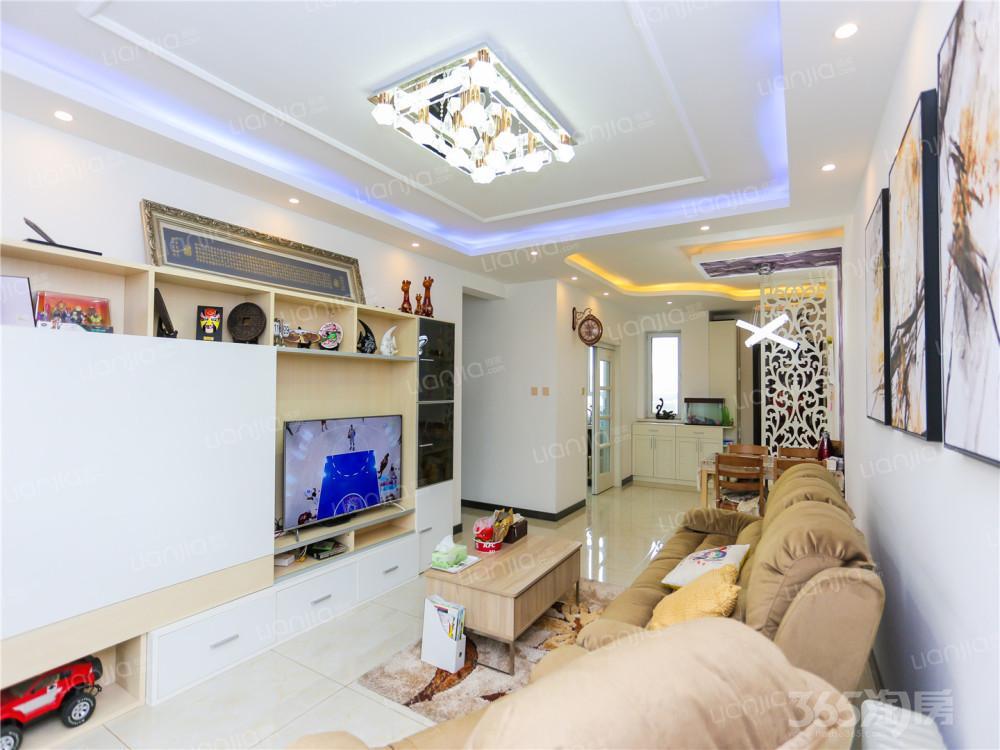 中海国际社区四期3室2厅2卫119.34平米精装双学区
