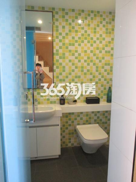 国润城A3号楼LOFT39.58平米样板间卫生间