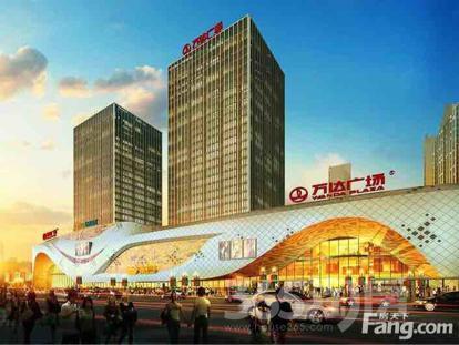 扬州万达广场103平米整租毛坯