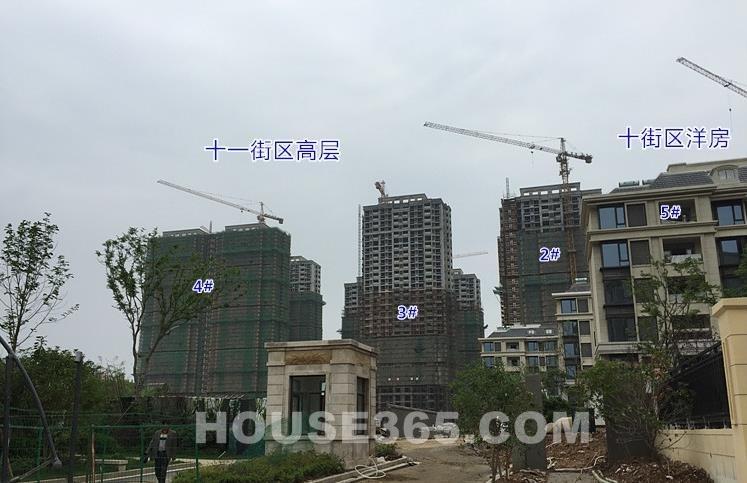 银亿东城11街区实景图(6.8)