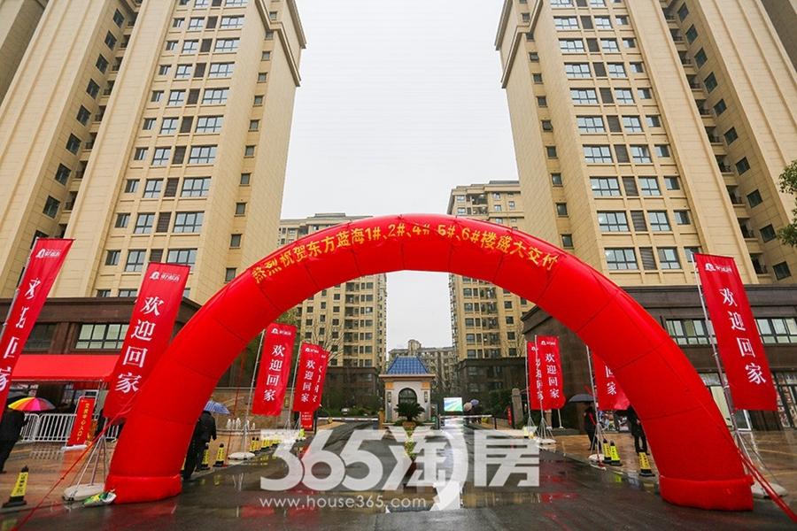 东方蓝海交付现场(2019.1摄)