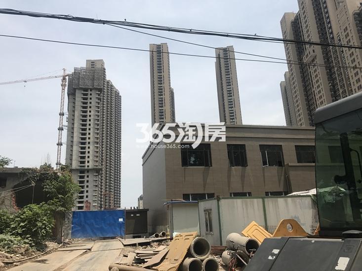 世茂外滩新城楼栋进展图(8.21)
