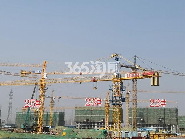 中梁香缇公馆洋房22、23、25#楼建至约4层(3.5)