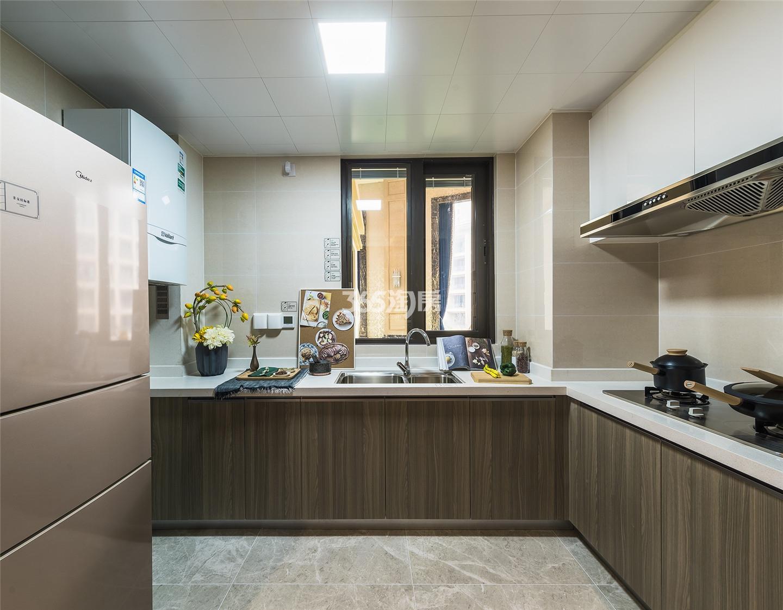 雅居乐御宾府108㎡户型样板间-厨房