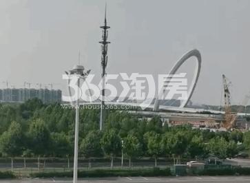 青奥村实景图