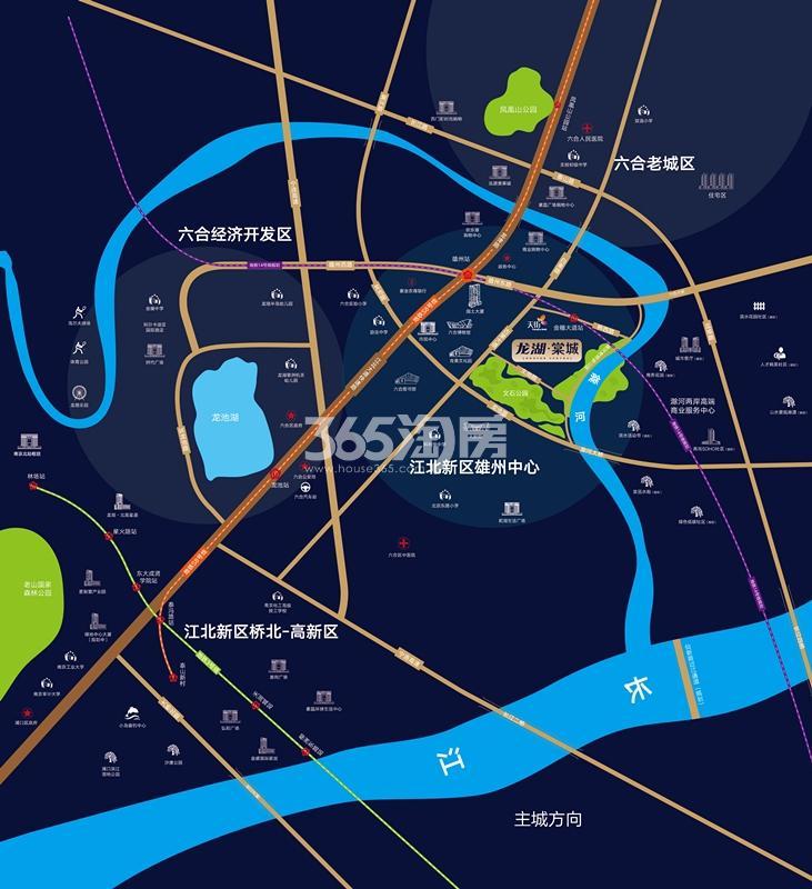 龙湖棠城实景图
