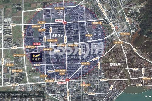 中庆润泽院交通图