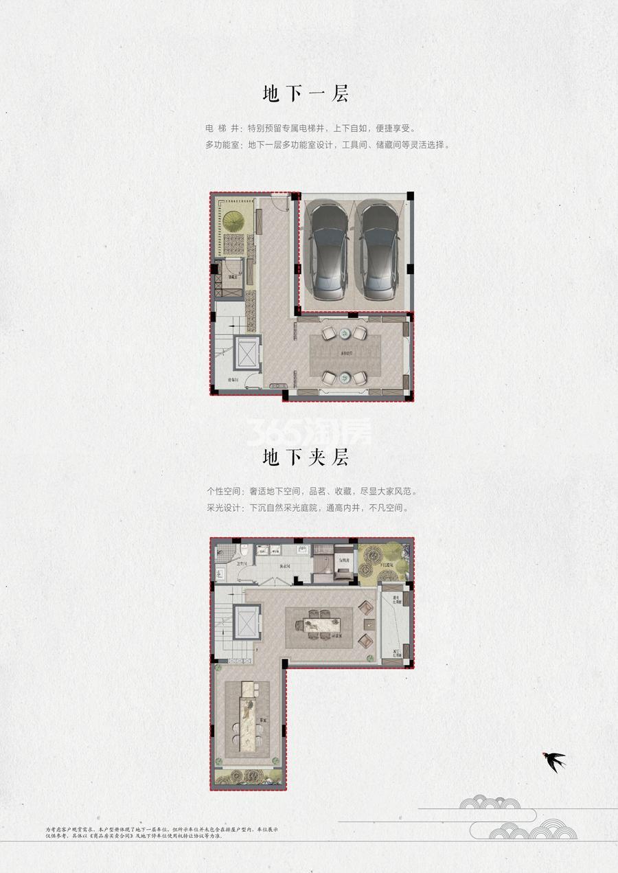 宋都相贤府排屋167方地下一层(1-16#)