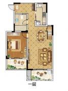 九龙湖别墅4室2厅2卫172平方及63平大露台边户产权房精装