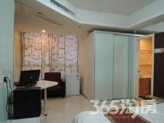 中商万豪中心公寓1室0厅1卫38�O整租精装
