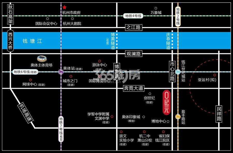 O纪元交通图