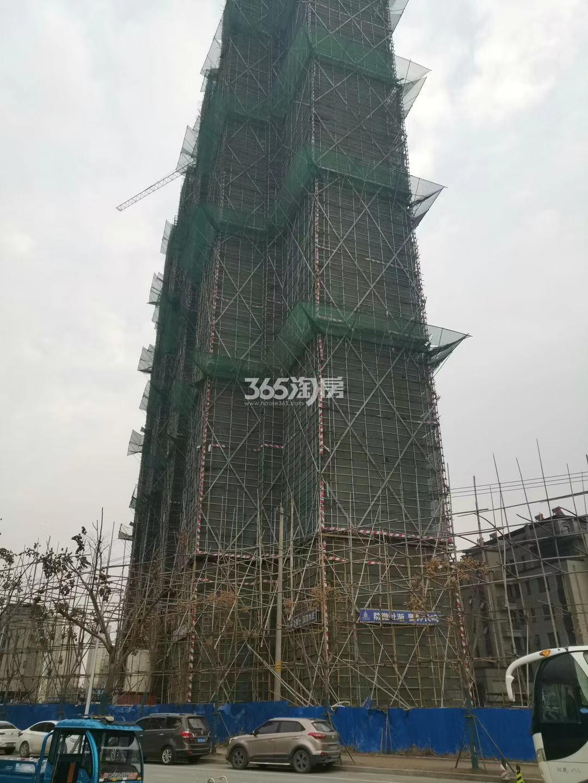 江山大境B地块9号楼实景图(12.30)
