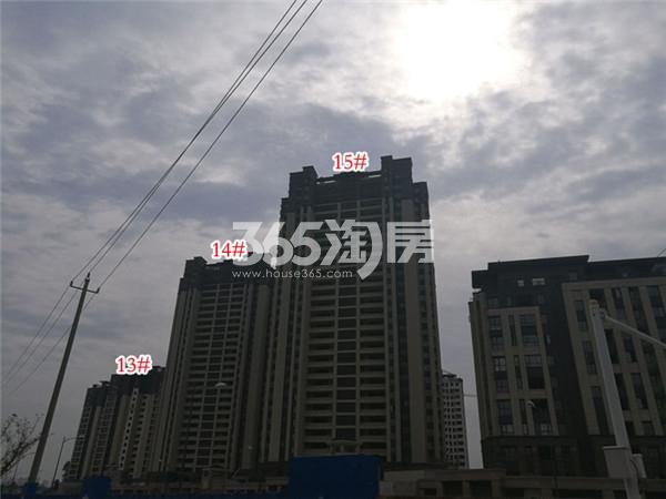 大华锦绣华城阅江山楼栋施工进展(11.28)