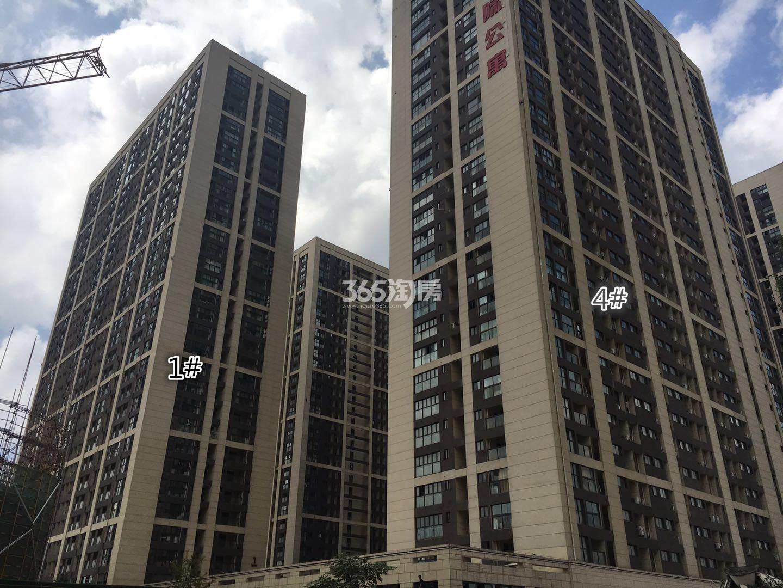 东方万汇城南区1、4号楼实景图(9.12)