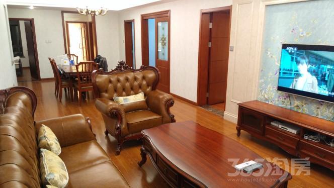 文一名门首府4室2厅2卫129.78平米整租豪华装