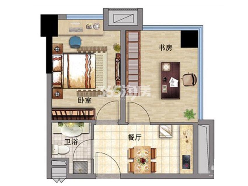 新宇盛世广场公寓B户型