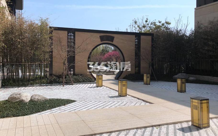 新城香悦公馆售楼处实景图 2018年7月摄