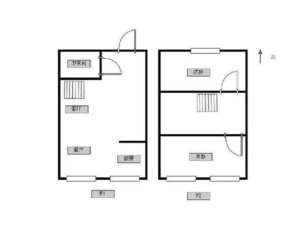 东郊小镇第八街区2室2厅1卫46㎡整租精装