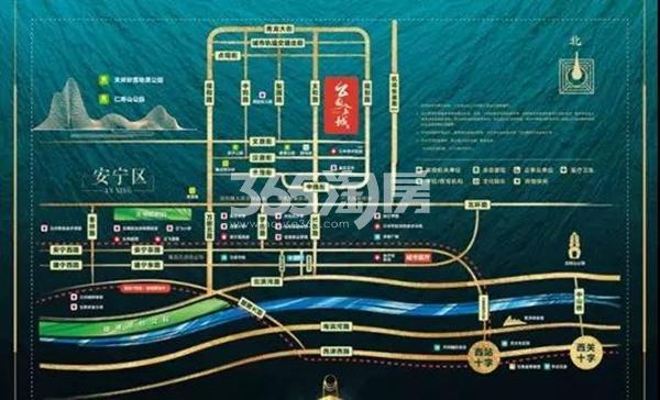 碧桂园·公园上城交通图