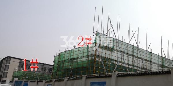 绿地理想城悦湖公馆低密度多层1、2#楼均建至2层以上(6.5)
