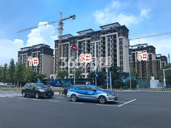 中隆广场・润��府小高层5#、7#、8#楼实景图(2017.10 摄)