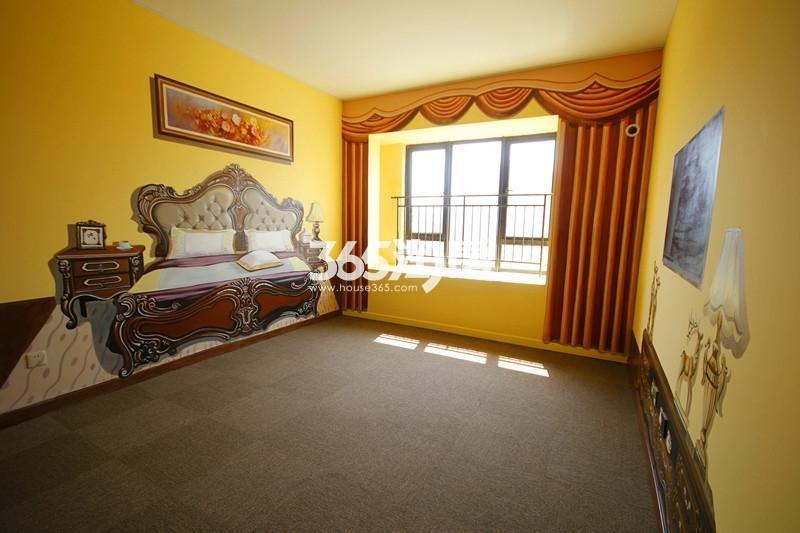 雅居乐国际花园B3户型125方样板房——卧室