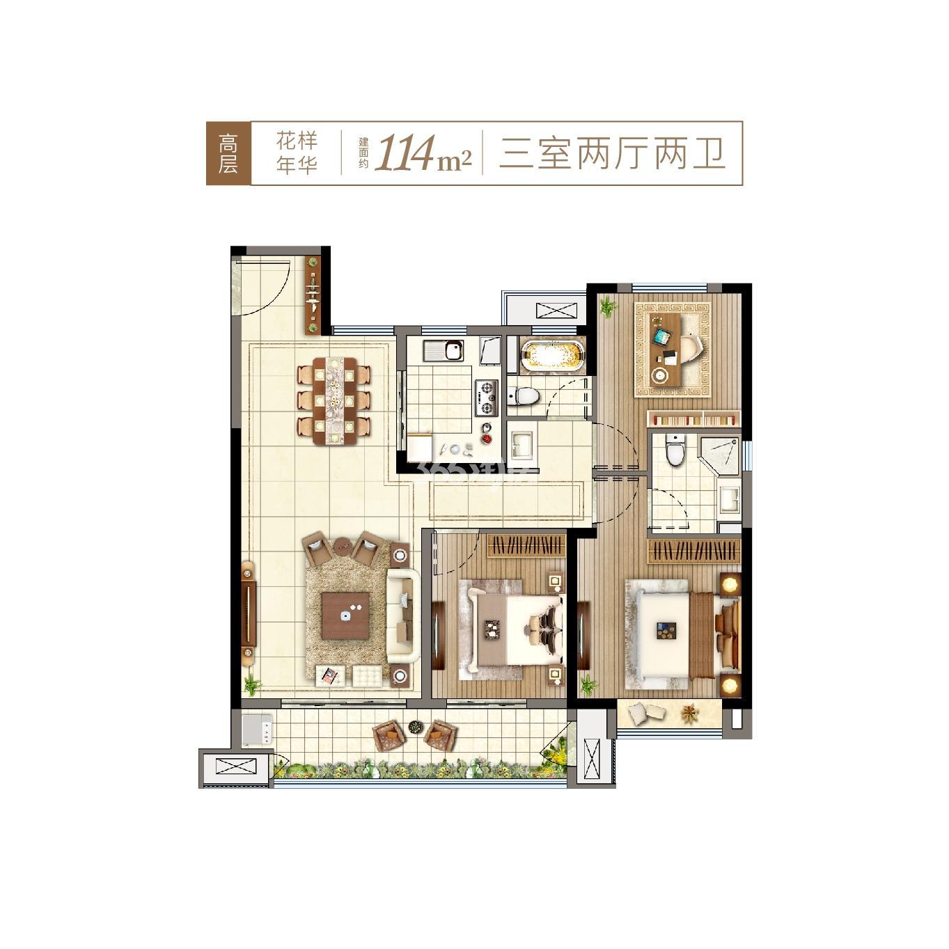 港龙湖光珑樾户型图