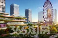 新乡商务中心区拟建大型商业综合体、步行街