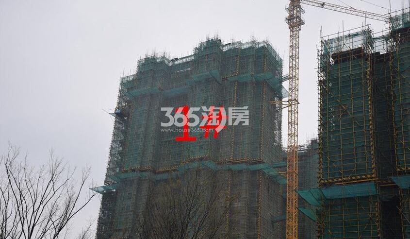 新城北宸紫郡1#工程进度实景图(2018.4.23)