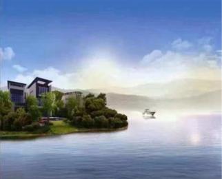 太湖庄园 一线湖景岛居别墅 游艇入户只需420万使用面积超大