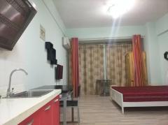 大唐国际公寓 一室一厅 拎包入住 中等装修 家具家电齐全