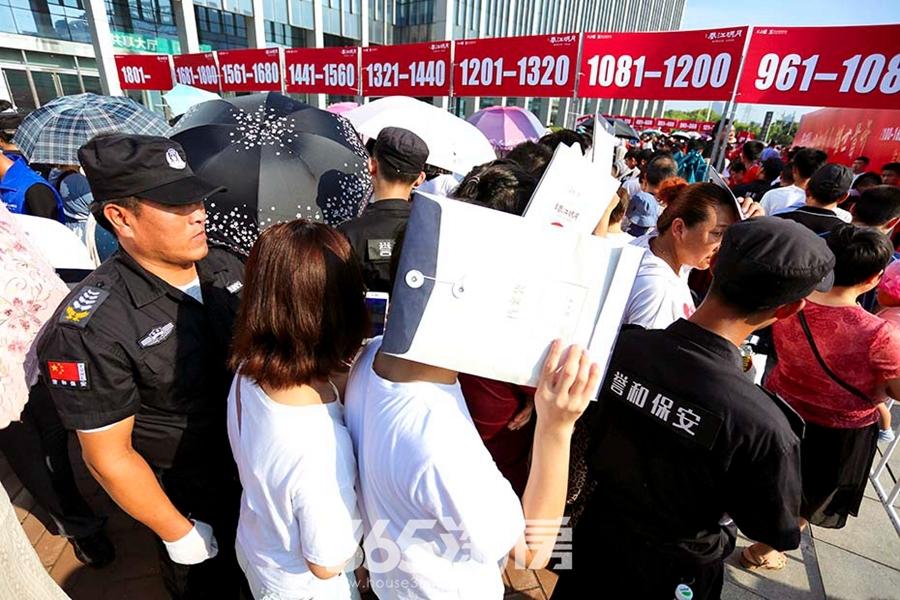 皖新春江明月开盘圆满落幕(2018.7摄)