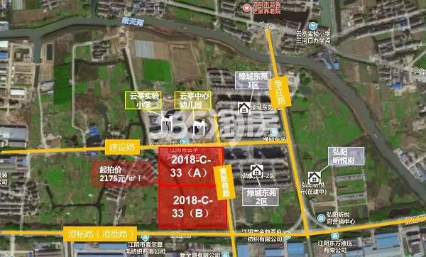 弘阳通银棠樾锦园交通图