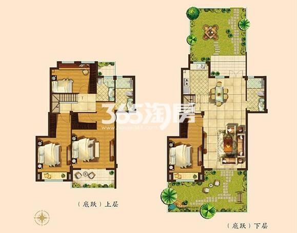 167平方米墅级洋房四房两厅三卫