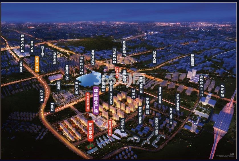 珑湾商业广场交通图