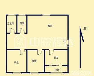 刚需首选 三室两厅 50中 金环花园北区 随时看房无税急售
