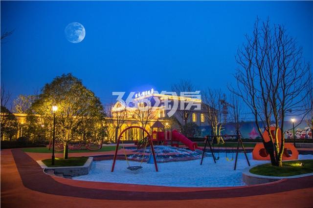 绿城明月双清实景图