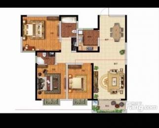 官山翰林3室2厅2卫143平米整租毛坯