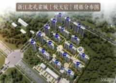 新江北长江熙岸孔雀城 精装三房 首付20万 地铁S3号线