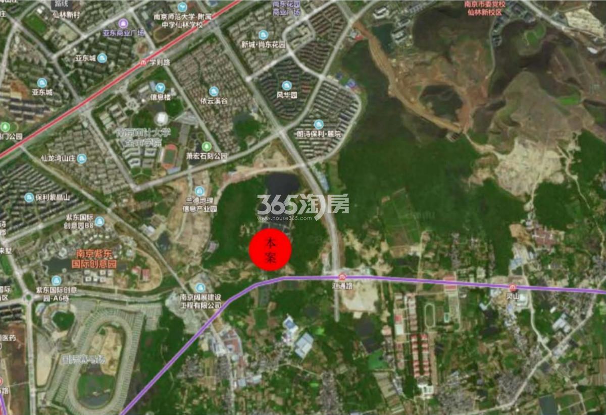 复地仙林G23地块区位图