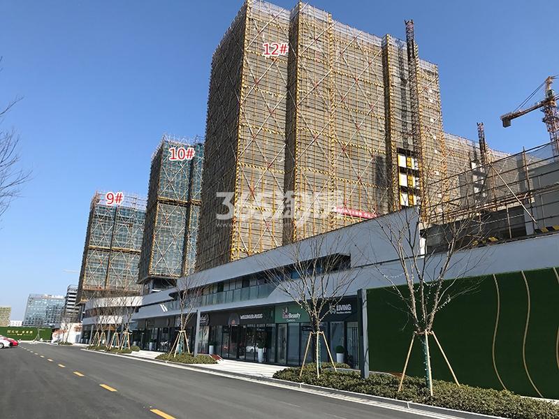 阳光城未来悦9、10、12号楼实景图(2018.3)