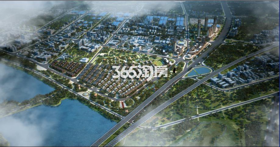 君山三角坪综合开发项目(合众·领岛)效果图