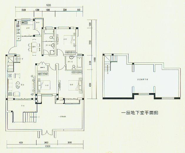 D3户型116平米三房两厅