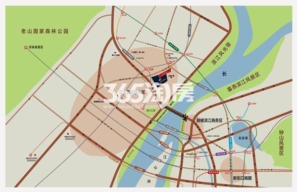 金象朗诗红树林区位图