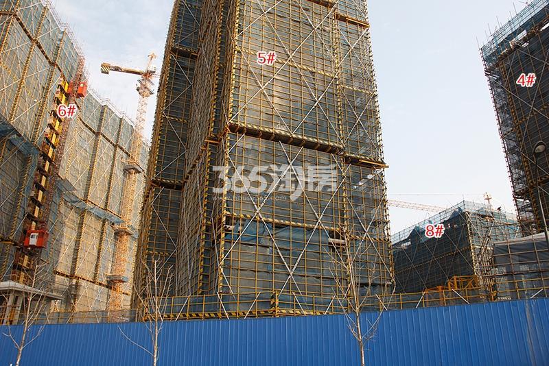 中国铁建西湖国际城高层4-6、8号楼实景图(2018.1)