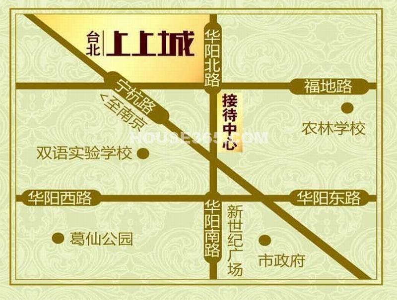 台北上上城交通图