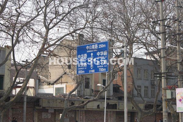 亚东夫子庙胡家巷项目交通图