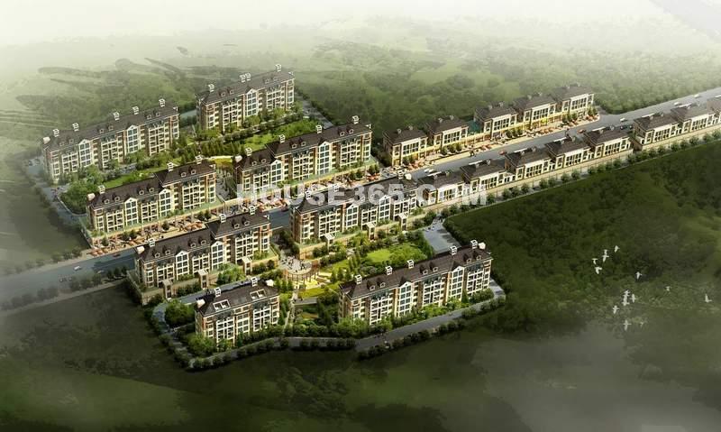 华城美景效果图